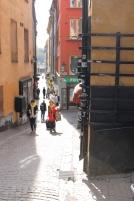 Side street on Gamla Stan