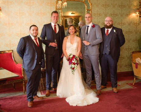 Myself, Iris and my excellent friends Ben, Stephen and Anthony