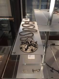 A viking amulet and necklace