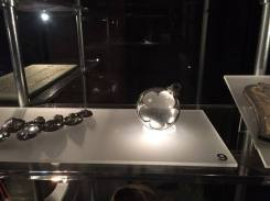 An orb made of diamond glass dated at least 900 years